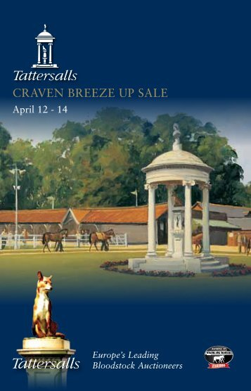 ONCE ONLY - Tattersalls