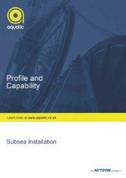 Subsea Installation (pdf) - Aquatic