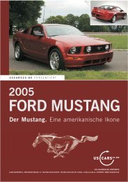 Der Mustang. - car-agentur.at :: US Autoimport