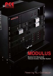 MODULUS - PCE UPS Systems