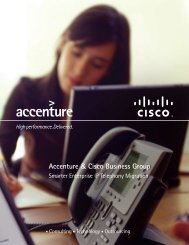 Accenture & Cisco Business Group
