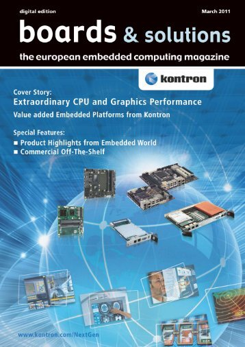 Product News - Embedded-Control-Europe.com