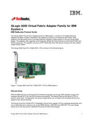 QLogic 8200 Virtual Fabric Adapter Family for IBM System x