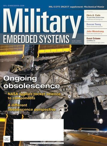 Military Embedded Systems- Volume 5 Issue 1