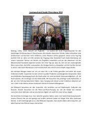 Austausch mit Sankt Petersburg 2011 - Andreae-Gymnasium ...