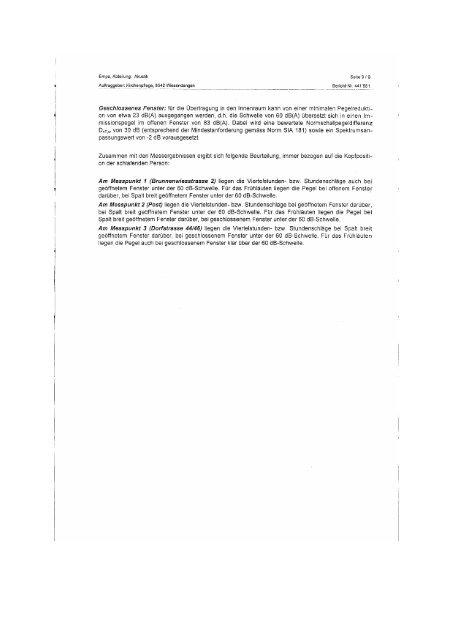Messwerte - Glockenlaerm.ch