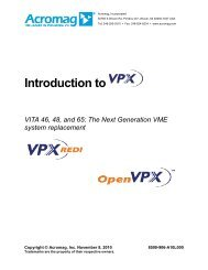 What is VPX? - Acal Technology