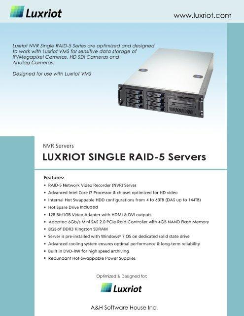 luxriot vms software price