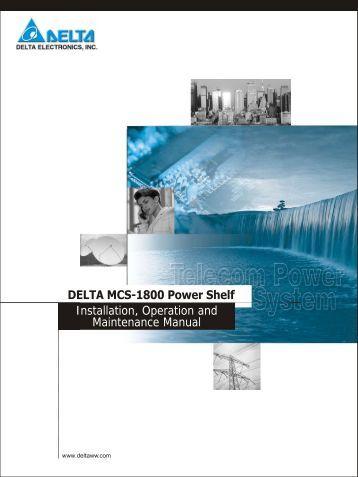 Delta Mcs 3000 manual