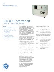 CUDA 3U Starter Kit - Acal Technology