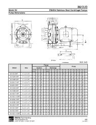Company Brochure - EBARA Fluid Handling