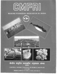 i If - Eprints@CMFRI - Central Marine Fisheries Research Institute