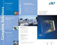 3U CompactPCI Product Guide