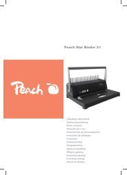 Peach Star Binder 21