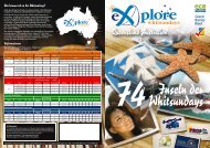 Queensland Australien - Explore Whitsundays