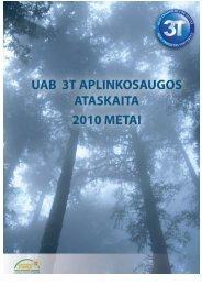 Ataskaita - Aplinkos apsaugos agentūra
