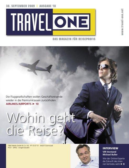 Wohin geht die Reise? - Travel-One