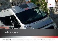 adria vans - Caravan Center Nord GmbH