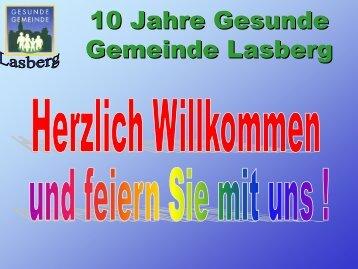 10 Jahre Gesunde Gemeinde Lasberg