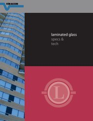 laminated glass specs & tech - Viracon