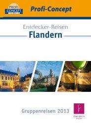 Entdecker-Reisen in Flandern 3 - Tourismus Flandern-Brüssel