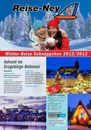 Prospekt Winter-Reise-Schnäppchen 2012 als PDF - Reise-Ney