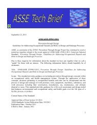 Ansi/asse z590.3-2011 - American Society of Safety Engineers
