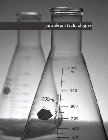 Petro tech brochure rev 3-1 - Petroleum Technologies