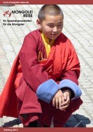 Katalog - Mongolei-Reise