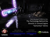 The Technology Behind the DirectX 11 Unreal Engine