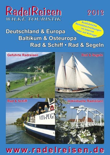 Ausführliche Reisebeschreibungen finden Sie - RadelReisen Wilke ...