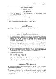 Wochenmarktsatzung 7/21/3 1 WOCHENMARKTSATZUNG ... - Worms