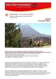 Kapverden - Von Insel zu Insel - Weltweitwandern