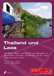 Thailand und Laos - Zermatt Rail Travel