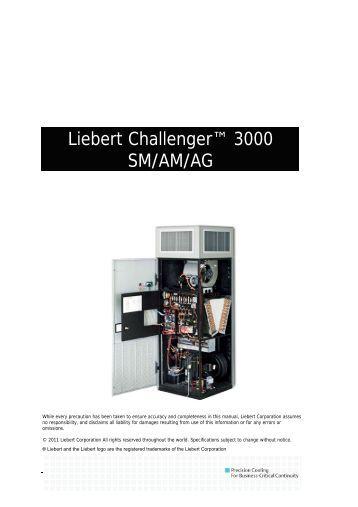 liebert challenger 3000 parts manual