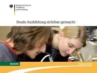 Duale Ausbildung sichtbar gemacht - NA-BIBB
