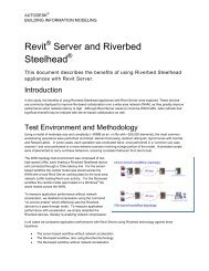 Revit Server and Riverbed Steelhead