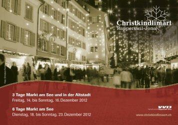 3 Tage Markt am See und in der Altstadt Freitag, 14. bis Sonntag, 16 ...