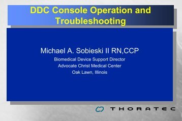 Console Operation - perfusion.ws