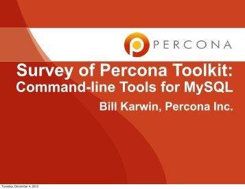 pt-mysql-summary - Percona