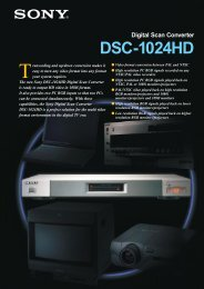 Digital Scan Converter DSC-1024HD - Nashville Production Rentals