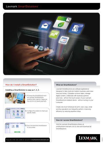 Lexmark SmartSolutions - Printers