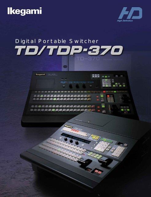 Digital Portable Switcher - Ikegami