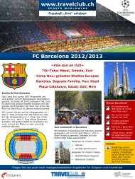 FC Barcelona 2012/2013 - Travelclub