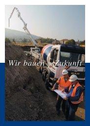Wir bauen - CEMEX Austria AG