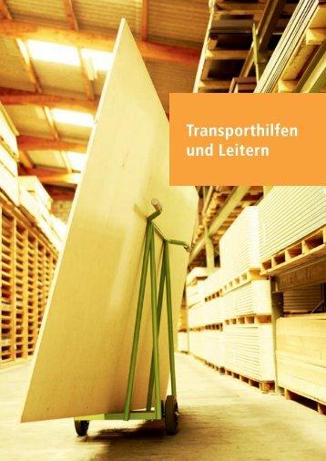 Transporthilfen und Leitern Basisinformation - Mapo