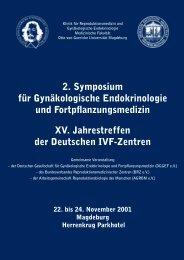 2. Symposium für Gynäkologische Endokrinologie - DIR Deutsches ...