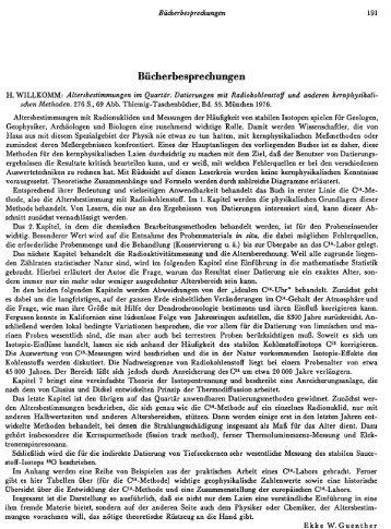 Bücherbesprechungen - quartaer.eu