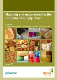 Mapping and understanding the UK palm oil supply ... - GreenPalm