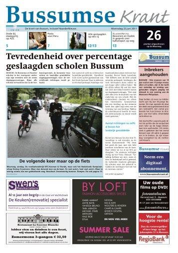 Bussumse Krant van 22 juni - WeesperNieuws